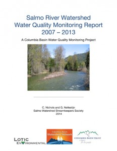 Salmo River Columbia Basin Water Quality Monitoring Report 2007-2013
