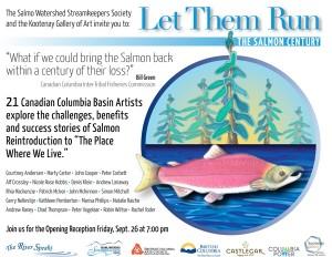 Salmon Century. SWSS & Kootenay Gallery Invitation